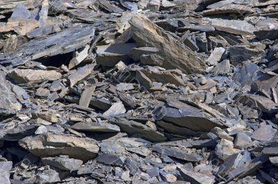 rock waste