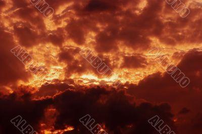 lurid sky