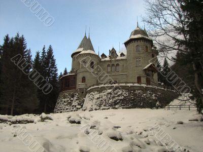 Gressoney Saint Jean Castle of Savoy