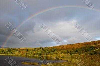 Wonderful rainbow in Scotland