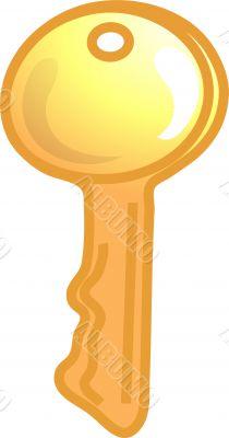 Large key icon or symbol