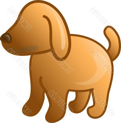 Pet dog icon or symbol