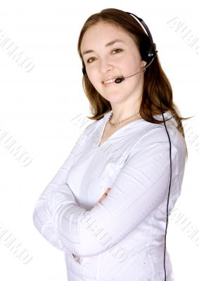Business Customer Services woman