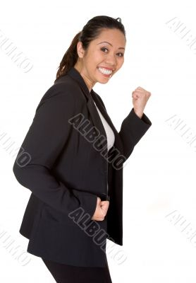 asian business woman success