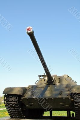 barrel of tank
