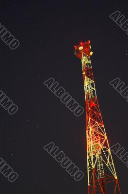 Broadcasting Pole