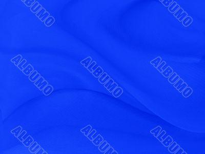 Texture of rich blue silk