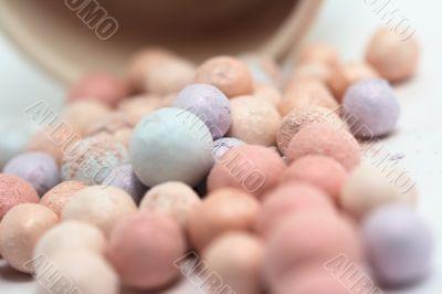 Rainbow little balls