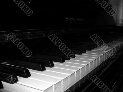 Piano in a classical style
