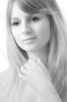 fine-art woman portrait