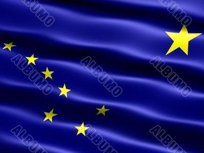 Flag of the state of Alaska