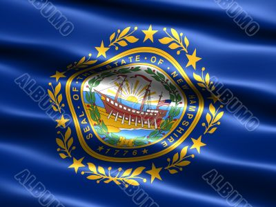 Flag of the state of New Hampshire