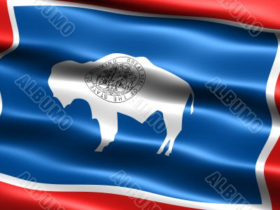 Flag of the state of Wyoming