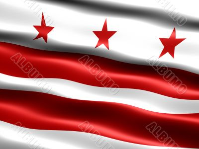 Flag of Washington D.C.