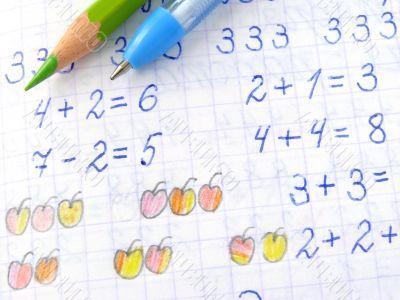 arithmetic lesson