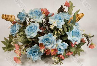 Plastic Flower Arrangement