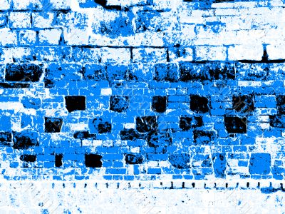 blue severe abstract