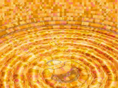 mustard square ripples