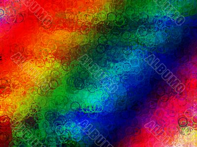 Highly colourful background