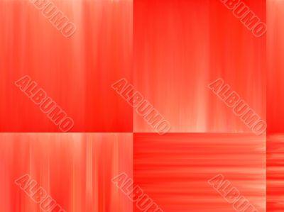 orange square abstract