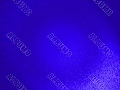 Indigo, and blue abstract