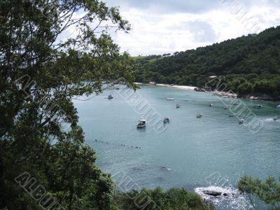 coast from Brazil