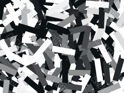 abstract collage effect