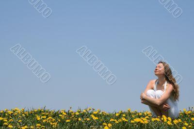 Enjoying sunshine