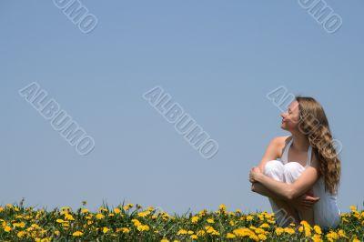 Young woman enjoying sunshine