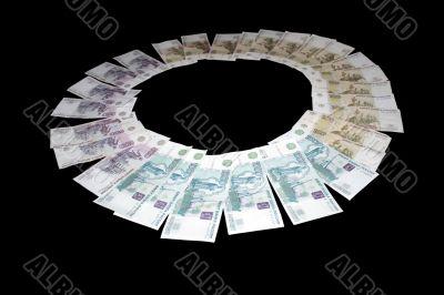 money bills Russia