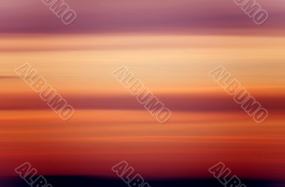 blured background - sunset colors