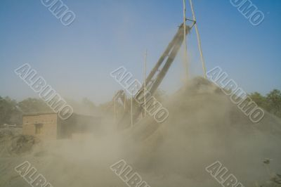 stone crushers in india