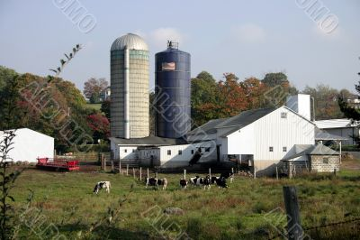 Farm house in Connecticut