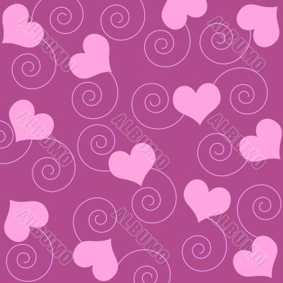 Hearts and spirals