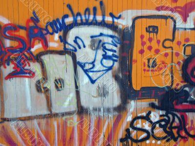 illegal graffiti
