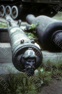 Turk`s head cannon decoration