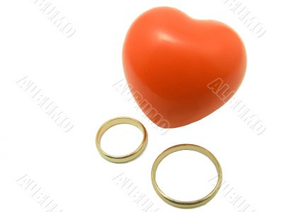 valentines gold rings