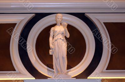 Classical Female Statue