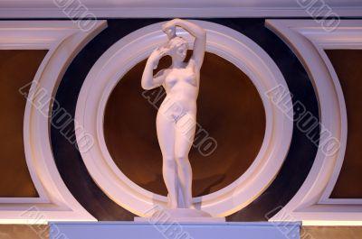 Nude Classical Female Statue