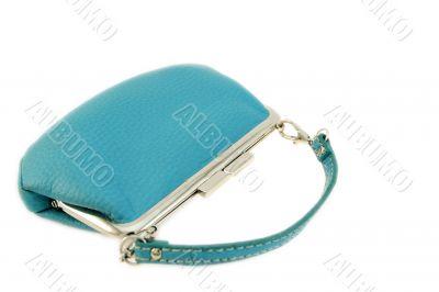turquoise feminine purse