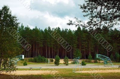 forest sport place