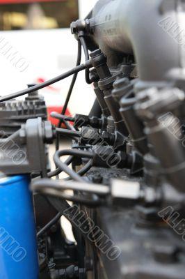 Automobile diesel engine