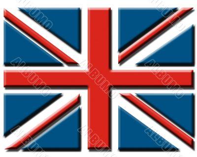 Embossed Union Jack