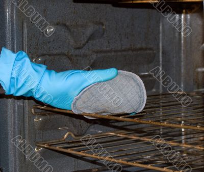 Cleaning The Oven