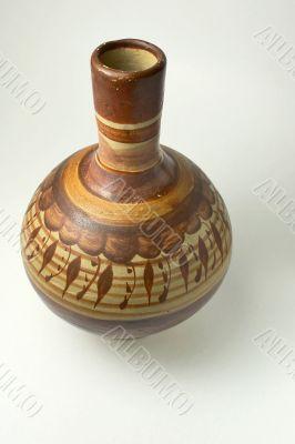 Ancient Mexican jug