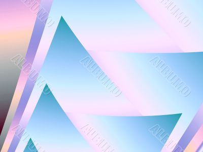 Layered Points Abstract Background