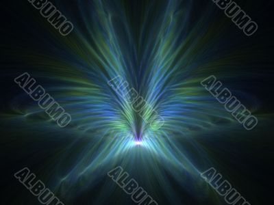 Rippling Wings Abstract Background