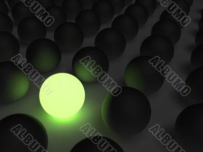 Luminous ball