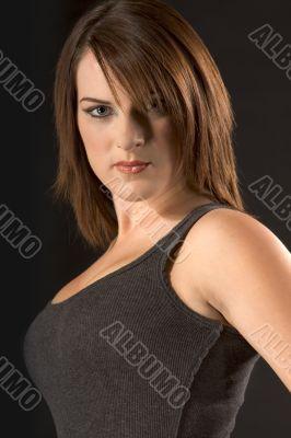 Teenager Portrait in tank top