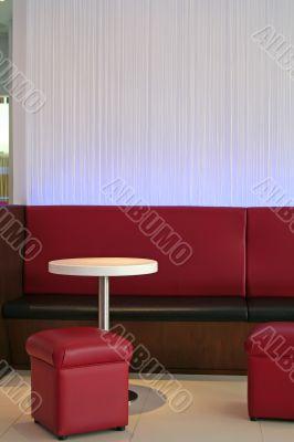 Modern lounge cafe